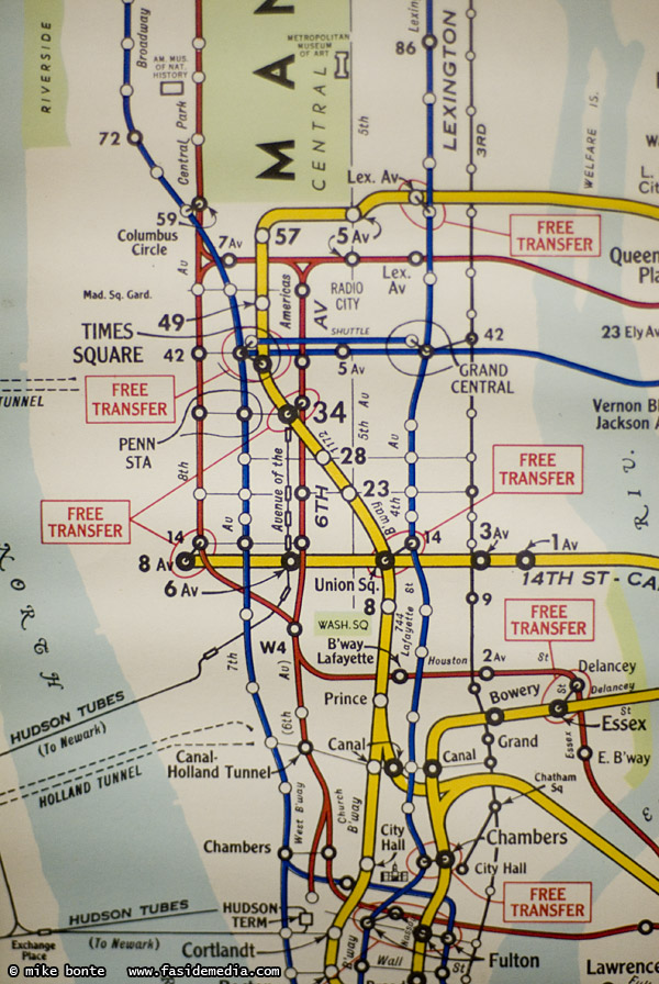 Columbus Circle Subway Map.1960 S Subway Map Mike Bonte Photos Ramblings